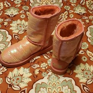 Sequin Pink UGGS Price Firm